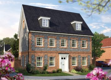 "Thumbnail 5 bed property for sale in ""The Stratford"" at Park Road, Hellingly, Hailsham"