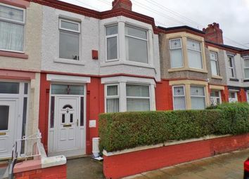 Thumbnail 3 bed terraced house for sale in Primrose Road, Claughton, Wirral