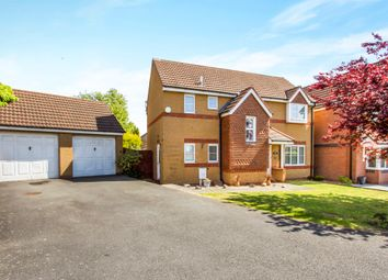 Thumbnail 4 bedroom detached house for sale in Darien Way, Thorpe Astley, Leicester