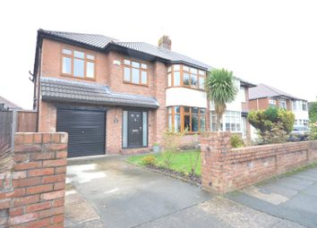 Thumbnail 4 bed semi-detached house for sale in Glendyke Road, Calderstones, Liverpool