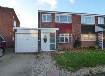 Thumbnail 3 bed semi-detached house for sale in Colbrook, Tamworth, Staffordshire