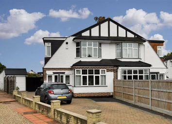 Thumbnail 4 bed semi-detached house for sale in Clandon Close, Stoneleigh, Surrey