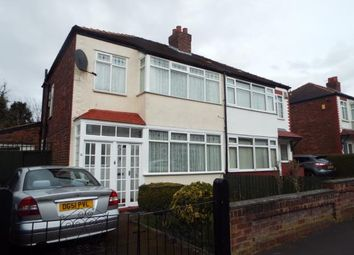 Thumbnail 3 bed semi-detached house for sale in Hollybank Road, Halton, Runcorn, Cheshire