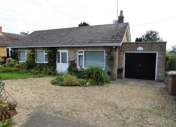 Thumbnail 3 bed bungalow for sale in West Head Road, Stow Bridge, King's Lynn