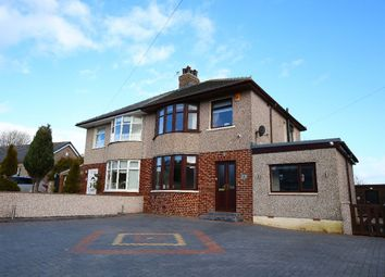 Thumbnail 4 bed semi-detached house for sale in Hallam Lane, Middleton, Morecambe