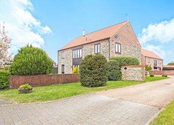 Thumbnail 4 bed detached house for sale in Beachamwell Road, Swaffham