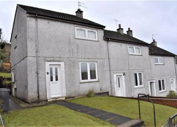 Thumbnail 2 bedroom end terrace house for sale in 32, Maple Road, Greenock, Renfrewshire