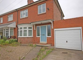 Thumbnail 3 bed semi-detached house for sale in West Croft Road, Forest Hall, Newcastle Upon Tyne