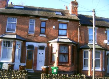 Thumbnail 6 bedroom terraced house to rent in Rothesay Avenue, Nottingham