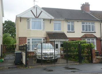 Thumbnail 3 bedroom end terrace house for sale in Church Road, Hanham, Bristol