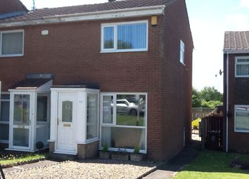 Thumbnail 2 bed terraced house for sale in Burnham Avenue, Newcastle Upon Tyne