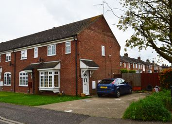 Thumbnail 3 bed end terrace house to rent in Alconbury Close, Stanground