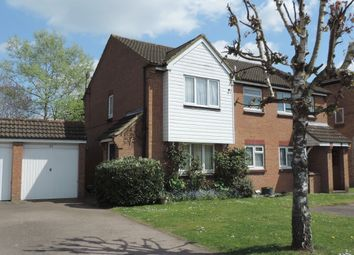 Thumbnail 2 bedroom end terrace house for sale in Nash Close, Welham Green, Hatfield
