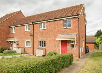 Thumbnail End terrace house for sale in Green Road, Haverhill