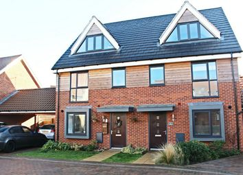Thumbnail 3 bed semi-detached house for sale in York Drive, Upper Cambourne, Cambourne, Cambridge