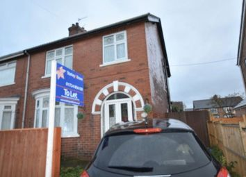 Thumbnail 3 bed semi-detached house to rent in Agard Avenue, Scunthorpe