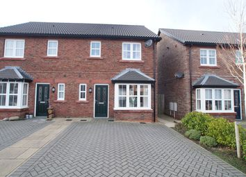 Thumbnail 3 bed semi-detached house for sale in Waters Edge Close, Whitehaven