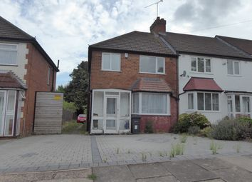 Thumbnail 3 bed end terrace house for sale in Dell Road, Birmingham