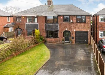 Thumbnail 4 bed semi-detached house for sale in Park Lane, Knypersley, Stoke-On-Trent, Staffordshire