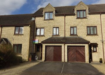 Thumbnail 3 bed terraced house for sale in Hanstone Close, Cirencester