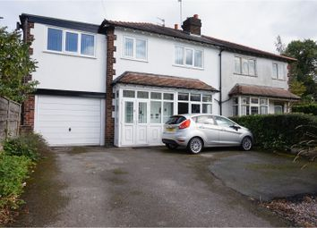 Thumbnail 5 bed semi-detached house for sale in Hawthorn Street, Wilmslow