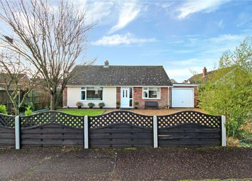Thumbnail 3 bed detached bungalow for sale in Hardesty Close, Poringland, Norwich, Norfolk