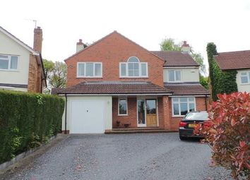 Thumbnail 4 bed detached house for sale in Streetly Crescent, Four Oaks, Sutton Coldfield