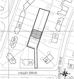 Thumbnail Land for sale in 23 Valley Drive, Braunstone, Leicester