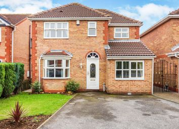 Thumbnail 4 bedroom detached house for sale in Pinfold Drive, Worksop