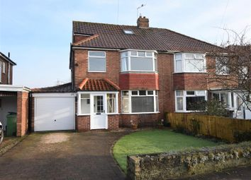 Thumbnail 4 bed semi-detached house for sale in Bedale Avenue, York