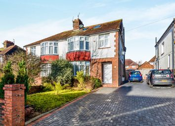Thumbnail 4 bed semi-detached house for sale in Sunninghill Avenue, Hove
