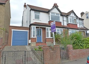 Thumbnail 3 bed semi-detached house to rent in Morton Road, Worcester Park