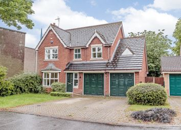 Thumbnail 4 bed detached house for sale in Queen Mary Court, Derby