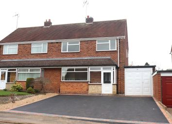 Thumbnail 3 bedroom semi-detached house to rent in Wordsworth Avenue, Redditch