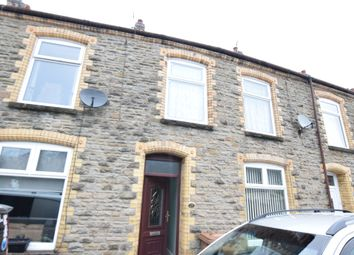Thumbnail 3 bed terraced house for sale in Llanover Street, Abercarn, Newport