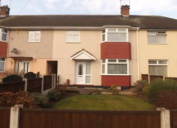 Thumbnail 3 bed terraced house for sale in Farnborough Road, Clifton, Nottingham