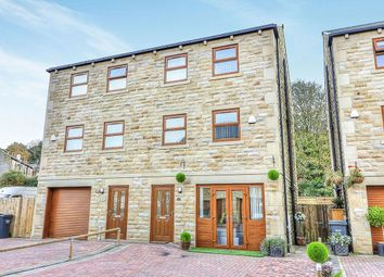 Thumbnail 4 bed semi-detached house for sale in Mill Bank Close, Todmorden