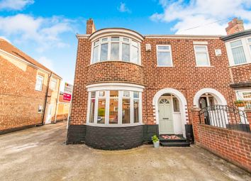 Thumbnail 3 bed semi-detached house for sale in Humber Road, Thornaby, Stockton-On-Tees