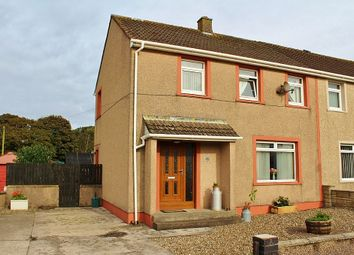Thumbnail 3 bed semi-detached house for sale in 45 Aird Crescent, Castle Kennedy