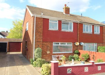 Thumbnail 3 bed semi-detached house for sale in Swallowfield, South Willesborough, Ashford