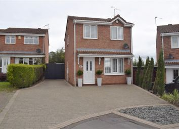 Thumbnail 3 bed detached house for sale in Ruskin Close, Galley Common, Nuneaton