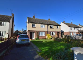 Thumbnail 3 bed semi-detached house for sale in Hargrave Close, Stansted