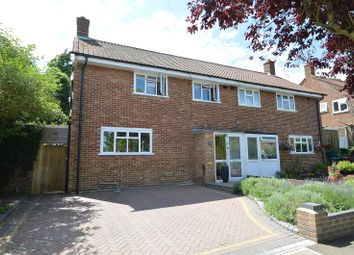 Thumbnail 3 bed semi-detached house to rent in Reynolds Avenue, Chessington, Surrey