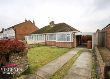 Thumbnail 2 bedroom semi-detached bungalow for sale in Lawnwood Road, Groby, Leicester