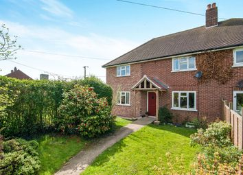 Thumbnail 3 bed semi-detached house for sale in Little Green, Burgate, Diss