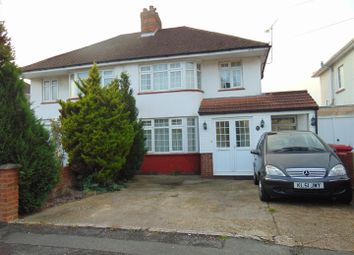 Thumbnail 3 bed semi-detached house to rent in Westgate Crescent, Cippenham, Slough