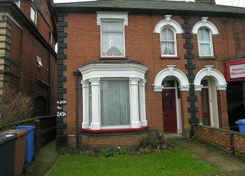 Thumbnail 1 bedroom flat to rent in Norwich Road, Ipswich