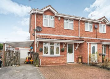 Thumbnail 3 bed semi-detached house for sale in Swallowdale Drive, Leicester