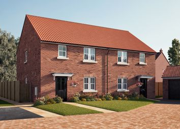 "Thumbnail 3 bed semi-detached house for sale in ""The Kendal"" at Southfield Lane, Tockwith, York"