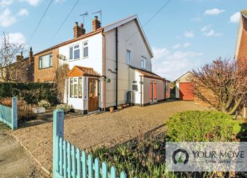 3 bed semi-detached house for sale in Yarmouth Road, Kirby Cane, Bungay NR35